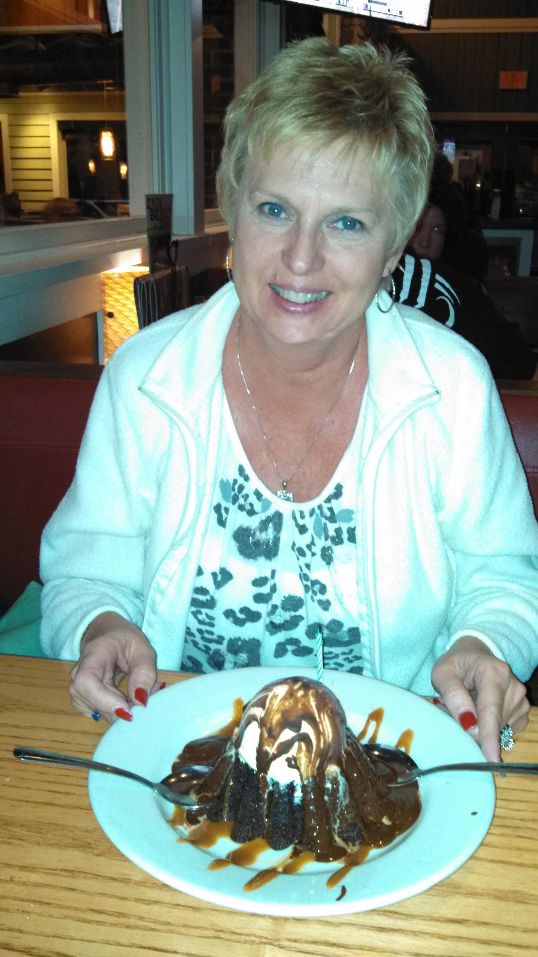 Free dessert at Chilli's for my birthday!