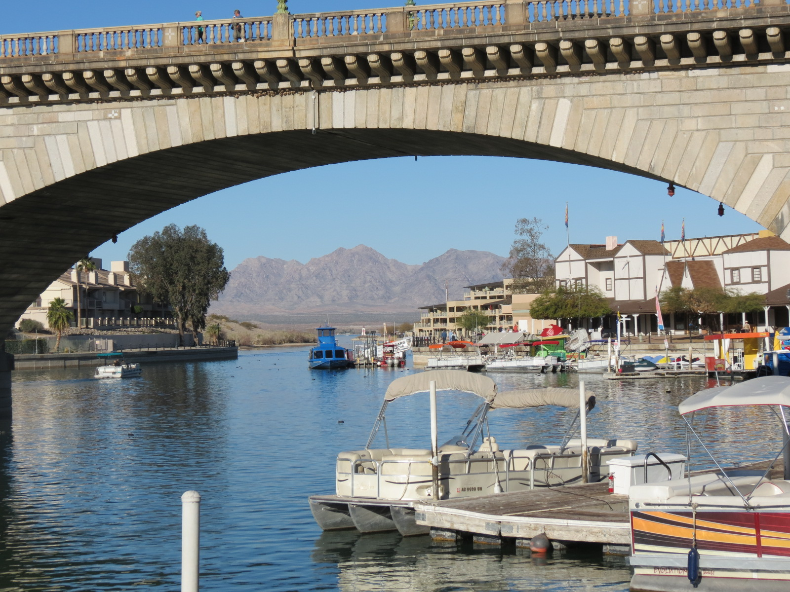 London Bridge replicate in Lake Havasu City, AZ