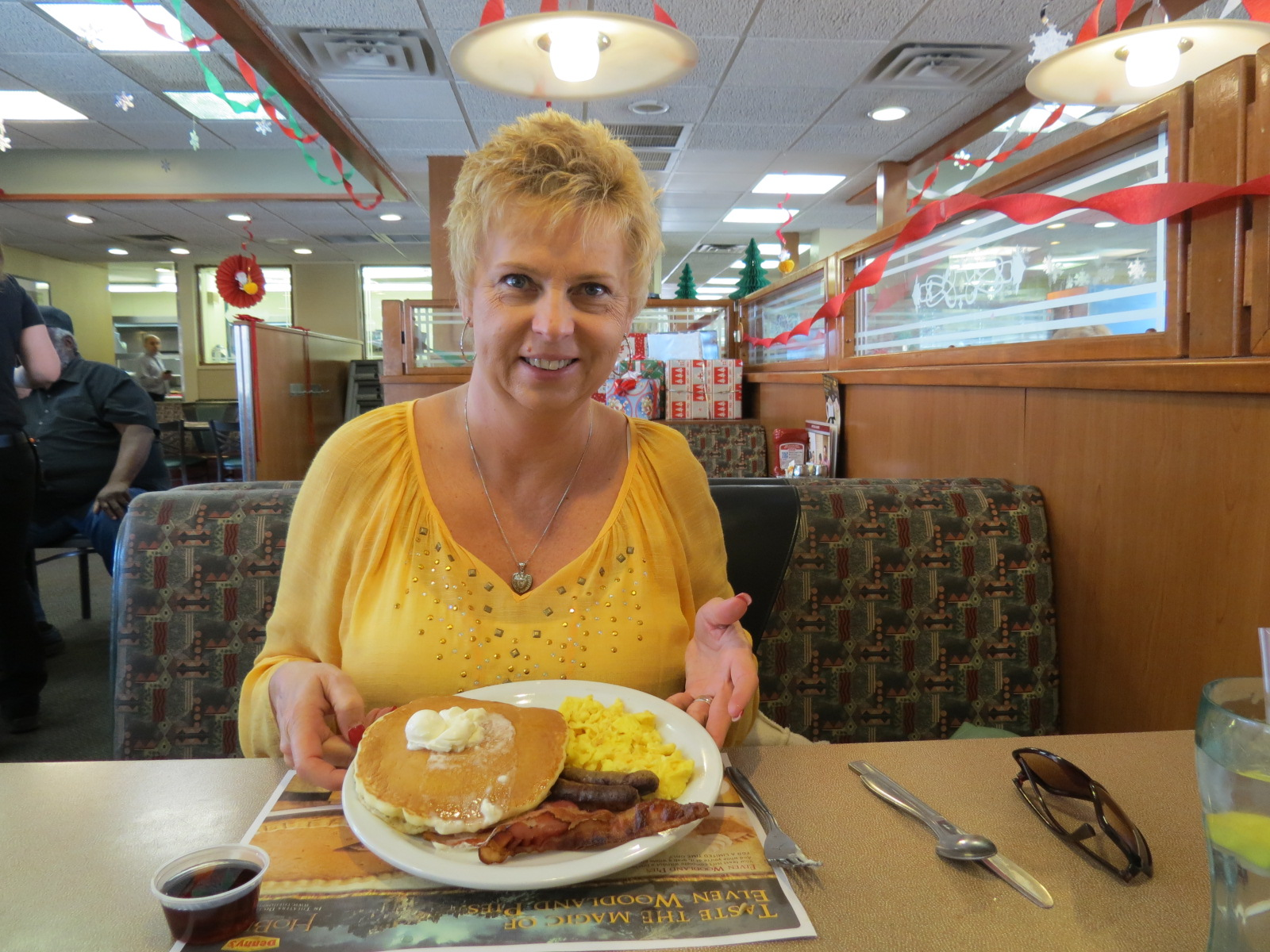 Free Grand Slam Breakfast at Denny's for my birthday!