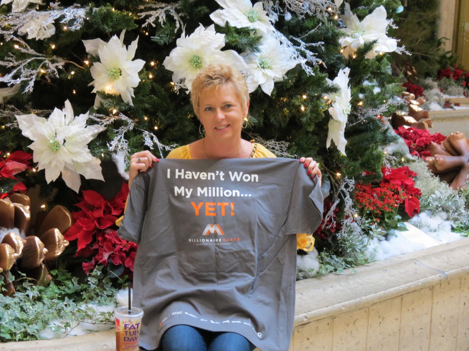 Free T-Shirt from Caesar's  in Vegas for my birthday!
