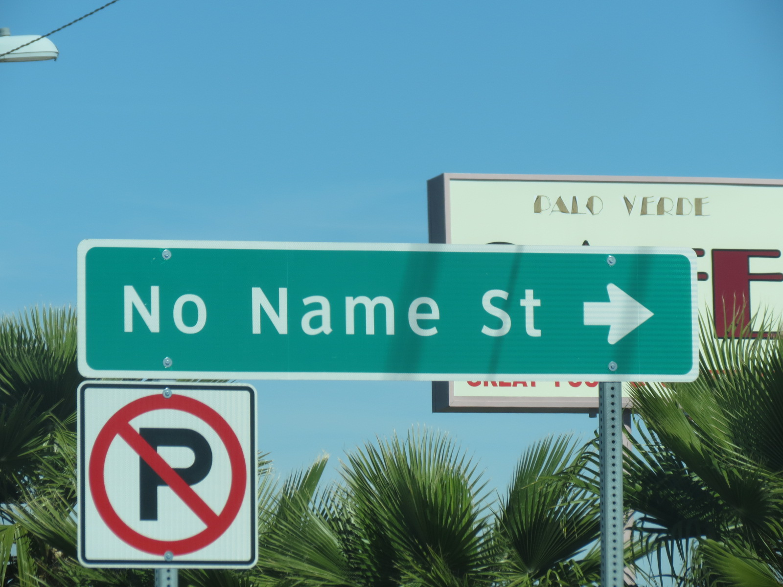 My favorite street name in Quartzsite, AZ