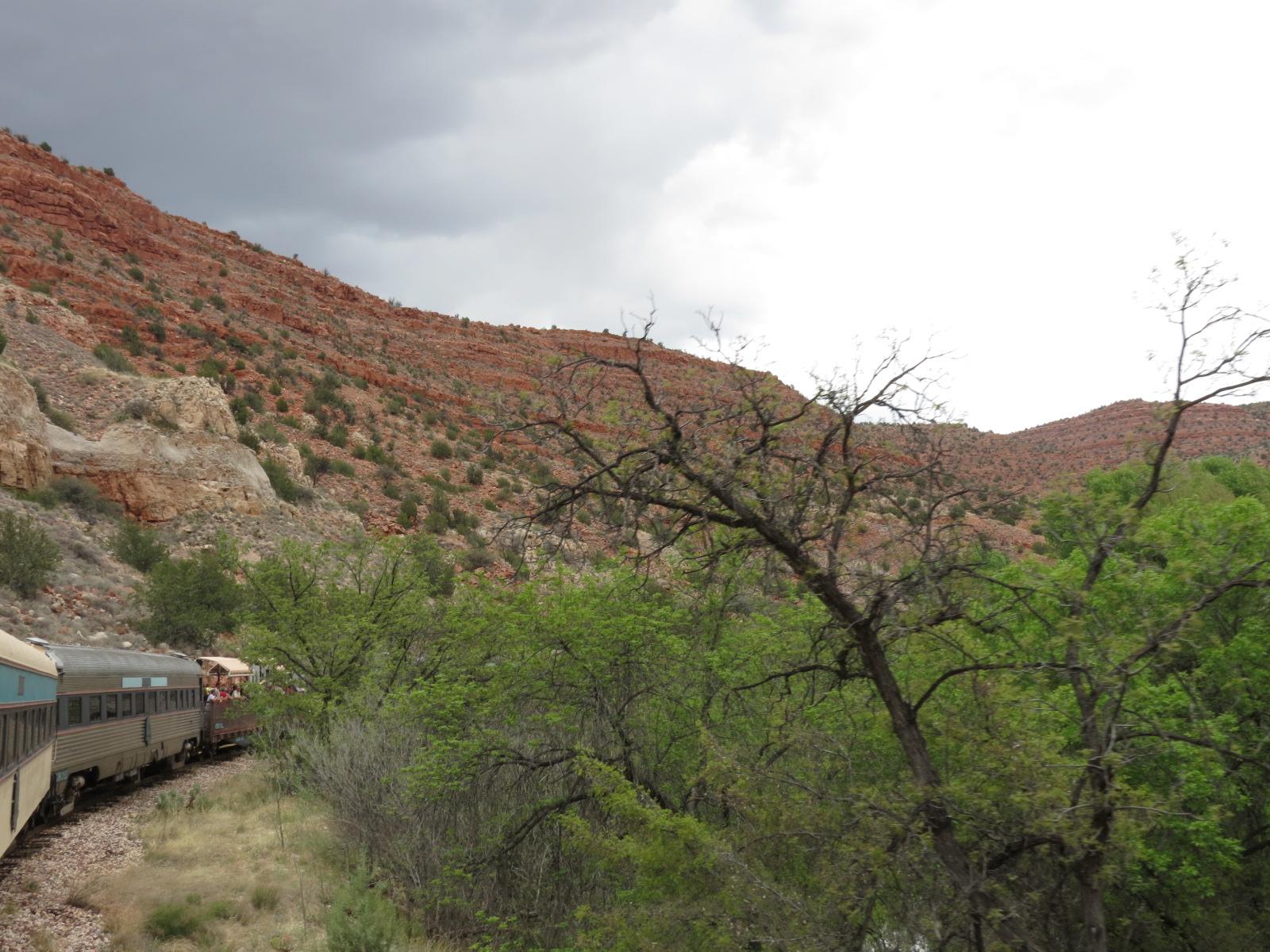 Verde Canyon Train 105