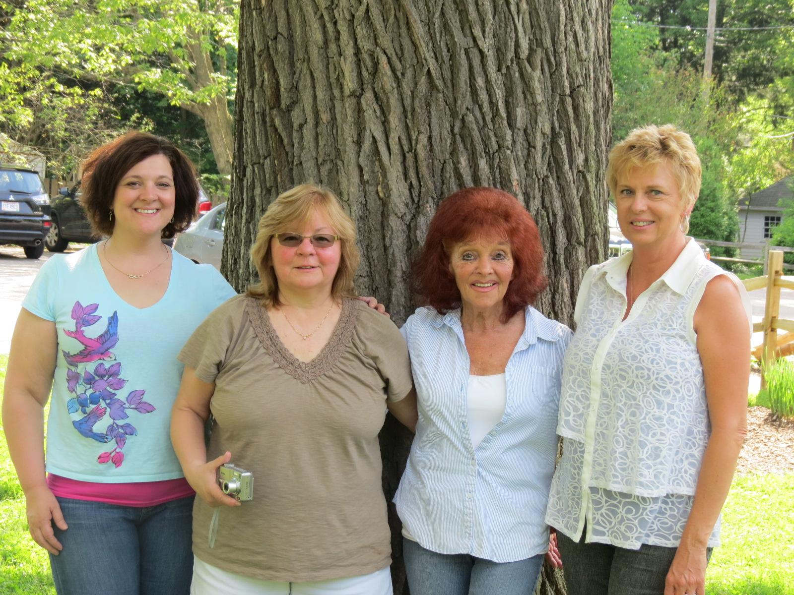 Holly Reimer, Kim Thaxton, Eva Thaxton, & Carol