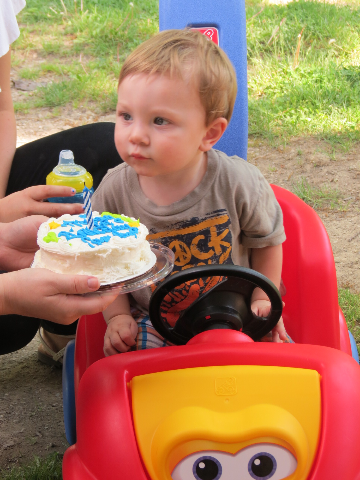 Camden's first birthday cake
