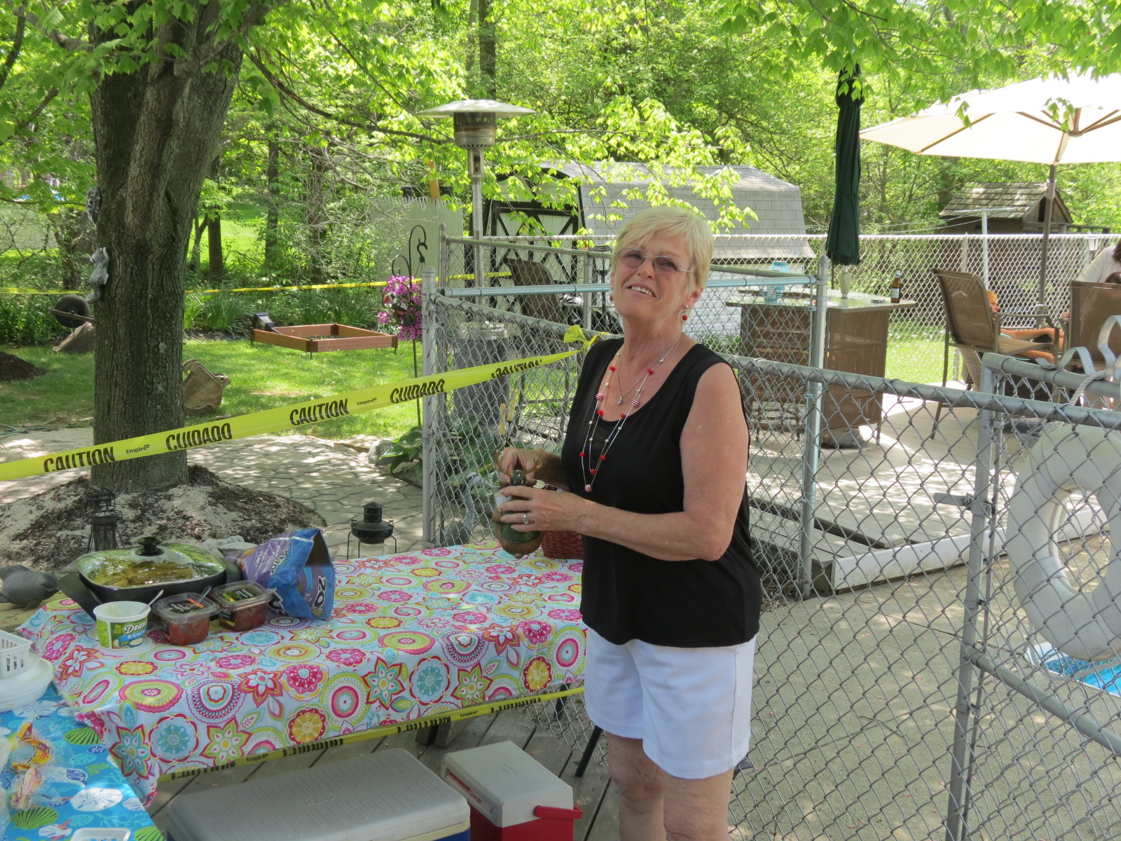 Our Memorial Day Hostess, Sue