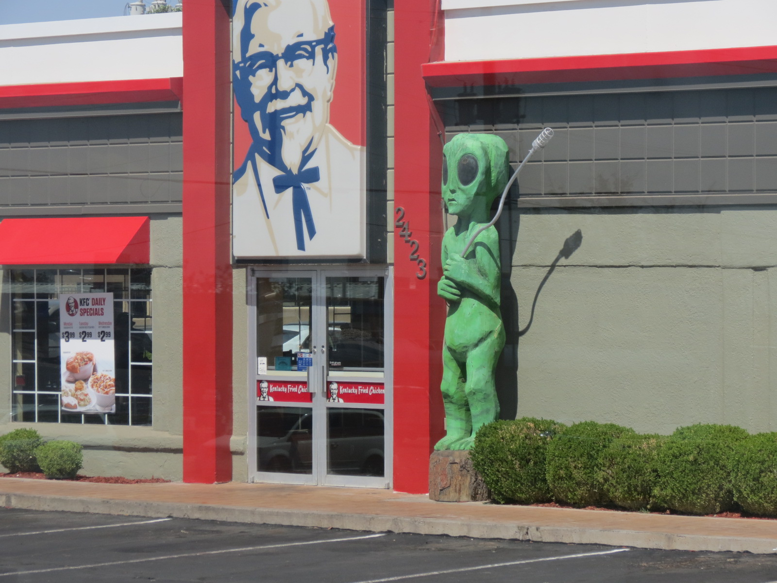 The aliens have landed!  In Roswell, NM
