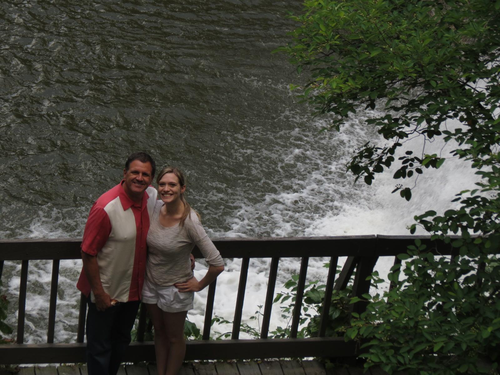 Lee & Sarah at Chagrin Falls OH