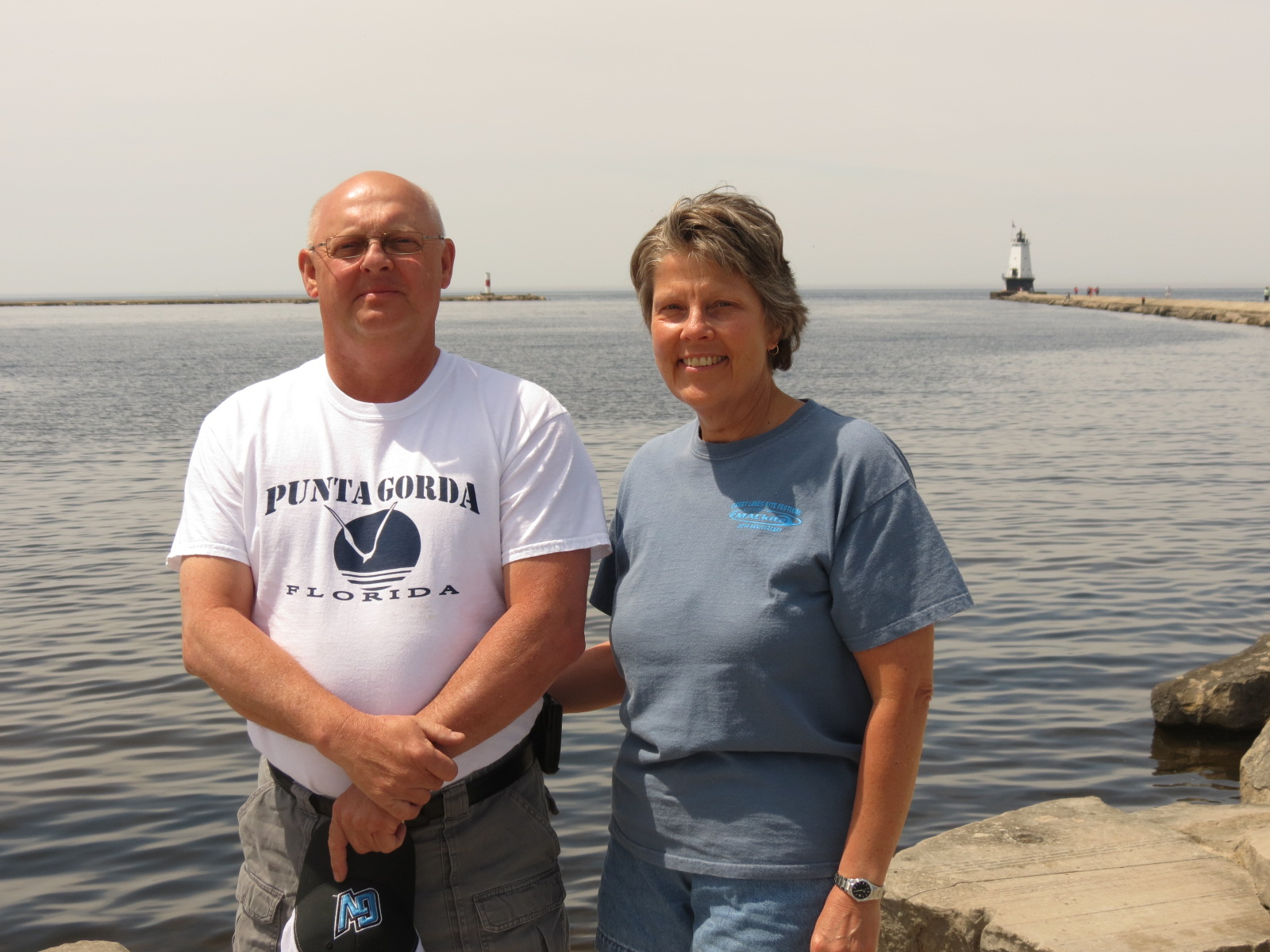 Dave & Karen Dean  at Ludington MI