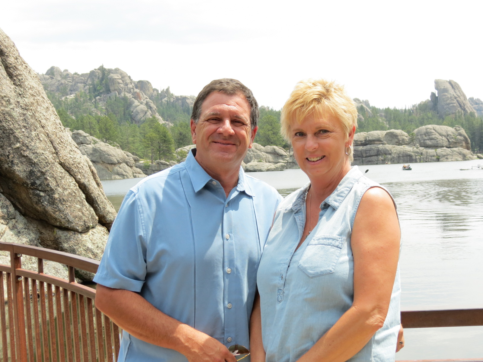 Lee & Carol at Sylvan Lake, In the Black Hills, SD