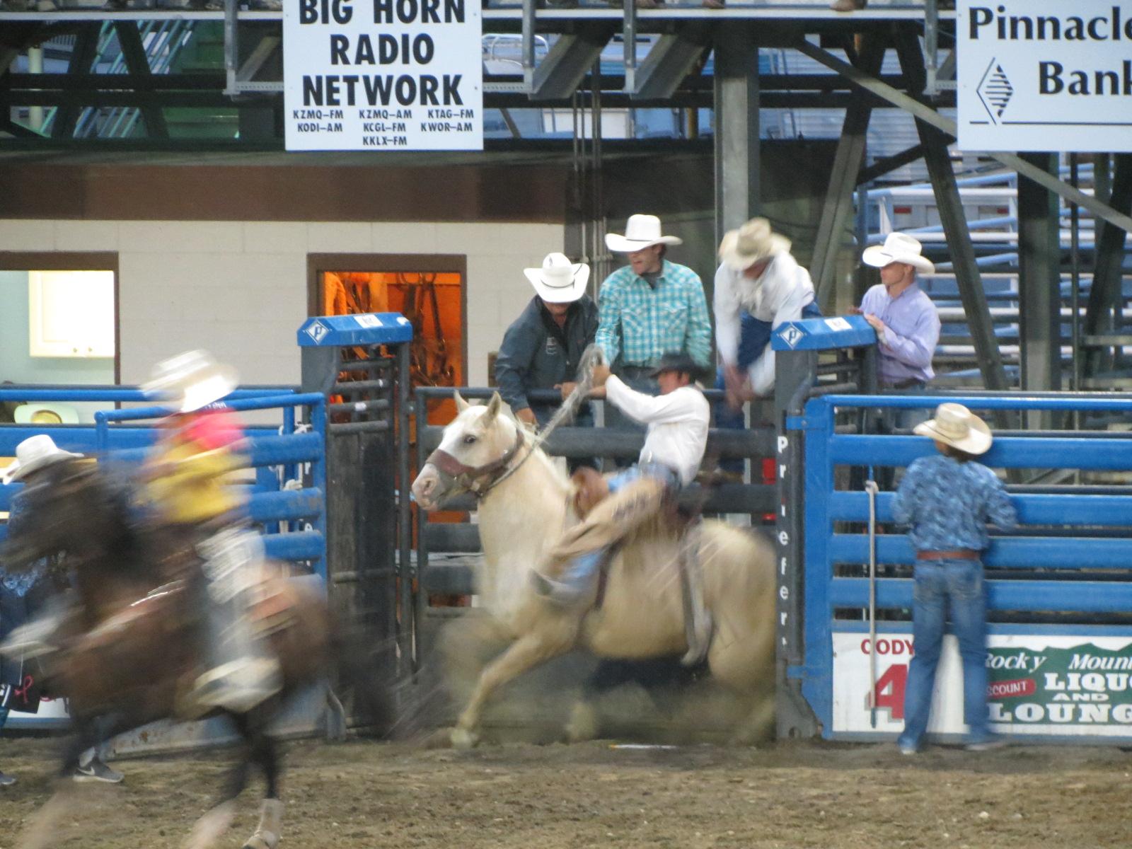 Ride'em cowboy Cody WY Rodeo