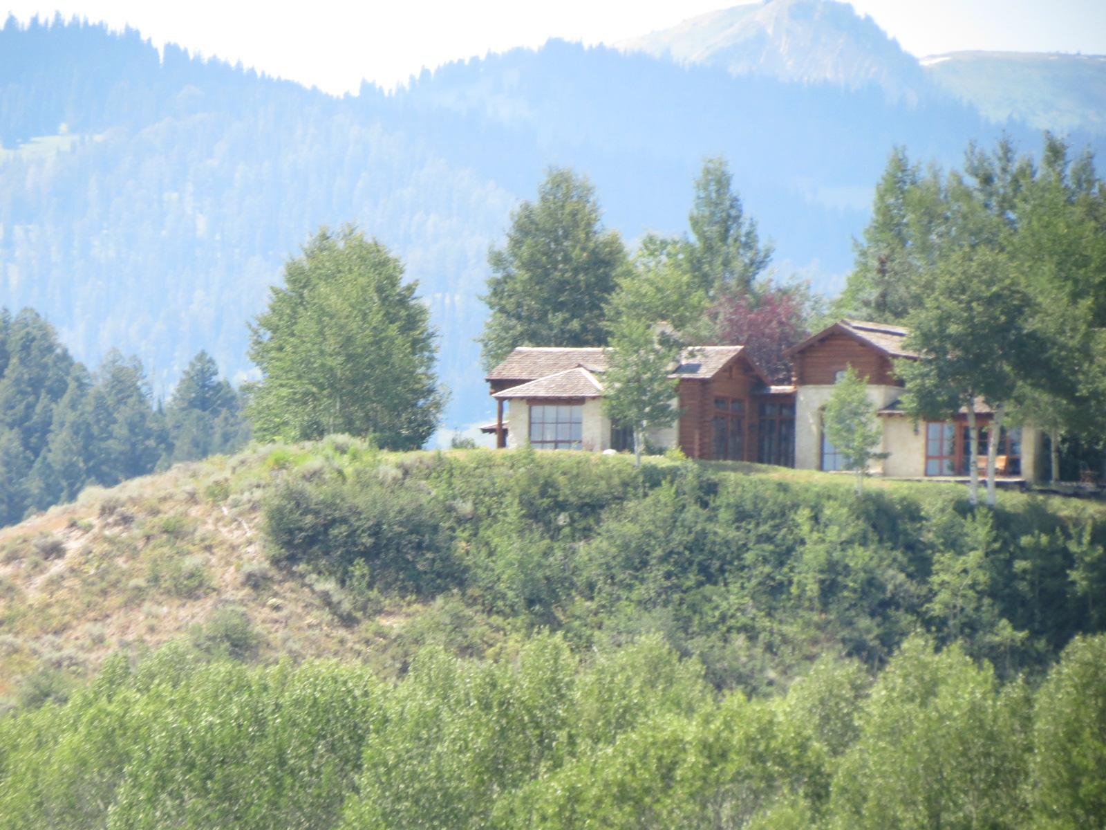 Sandra Bullock's house on the Snake River