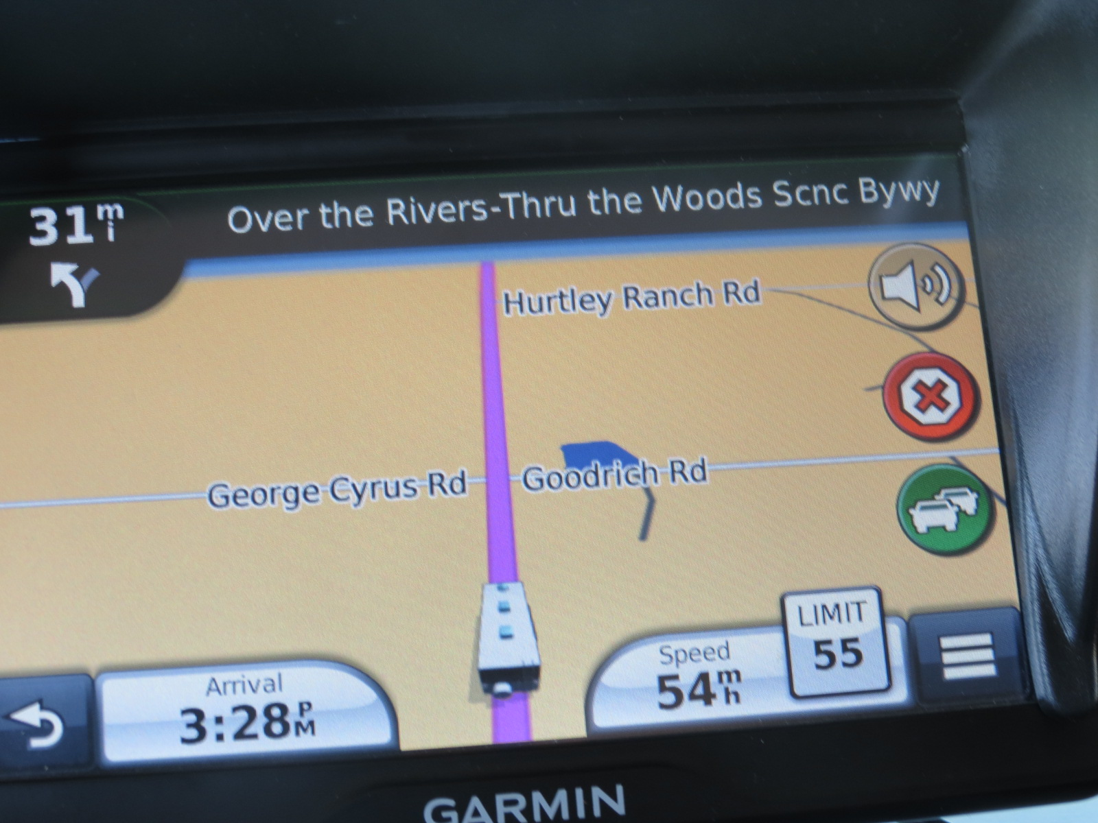 Over the River - Thru the Woods Scenic Byway.......Really!