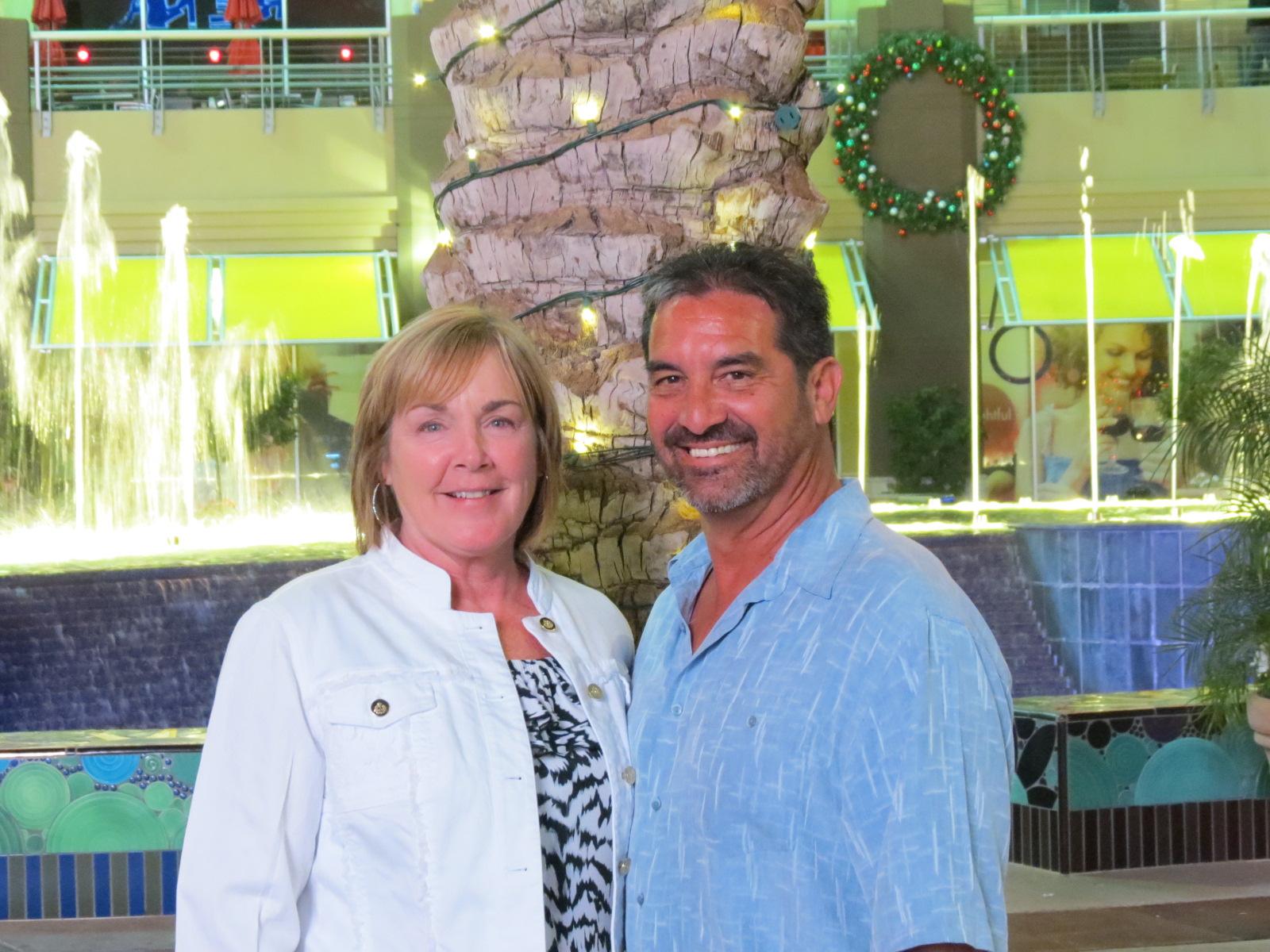 Karen & Roger at Westgate Mall